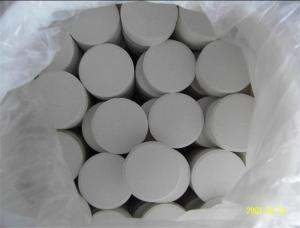 China ISO Calcium Hypochlorite Chlorine 70% For Swimming Pool Water Treatment on sale