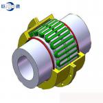 JSS Double Flange Snake Spring Grid Coupling  Industrial Coupling Standard JSS Type viva spacer couplings grid coupling