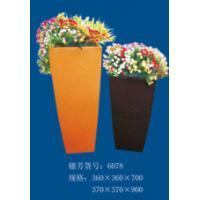 China 2014 hot sale waterproof fiberglass flower pot on sale