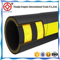 "DIN EN 853 1ST Standard Black Rubber Hose 3/8"" Steel Wire Braided Hydraulic Hose DIN 20022 2SN 2ST wire braided hydrauli"