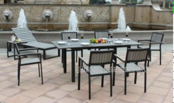 All Weather Patio Furniture Dining Sets / 7 Pc Patio