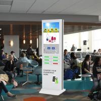Restaurant Advertising Public Phone Charging Stations For Electronics , OEM / OEM