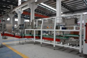 China Soft Drink Shrink Film Packing Machine , 10-45 Packs / Min Auto Packing Machine supplier