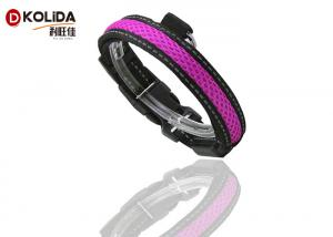 China Durable Cat Neck LED Dog Collar Light Up Night Safety Strap S / M / L on sale
