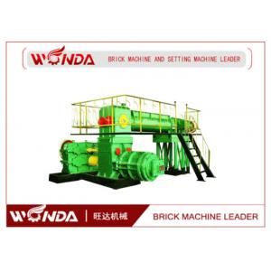China Auto Fired Soil Bricks Manufacturing Machine Clay Brick Extruder Spiral Cut Reamer on sale