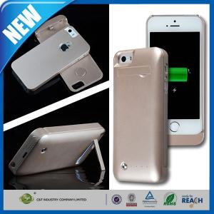 China 2200mAh Iphone 5 / 5s Cell Phone Battery Extender Case , Smartphone Battery Case on sale