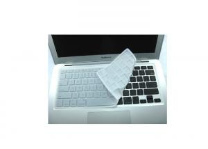 China Clear Silicone Keyboard Covers For Macbook Air , Silicone Keyboard Protector on sale