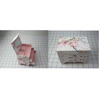 Recyclable Decorated Gift Boxes , Embossing / Matt Lamination