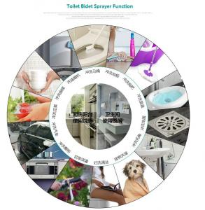 Enjoyable Water Saving Bathroom Bidet Spray Kit With Push Switch Pabps2019 Chair Design Images Pabps2019Com