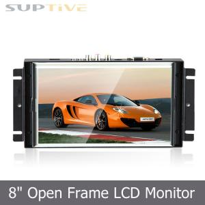 China Flexible Touch Screen Open Frame LCD Display No Frame Lcd Monitor LED Backlight on sale