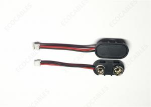China 9V Battery Custom Cable Harness L = 40mm UL1007 26awg Black Red on sale