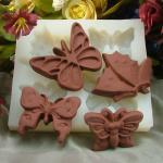 a decoração de borracha do bolo do molde do chocolate dos moldes do chocolate do silicone molda