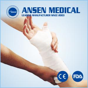 China Soft Protective Medical Orthopedic Polyester Cotton Undercast Padding on sale