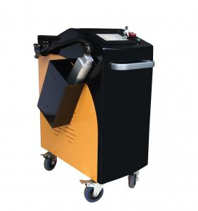 China KR 500W Fiber Laser Cleaning Machine Rust Paint Cleaning On Metal / Stone / Wall on sale