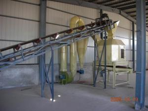 China Grinding, Mixing Powde Biomass Organic Fertilizer Production Line, Pellet Machine HKJ40F on sale