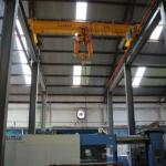 High Power Single Girder Overhead Cranes / Indoor Electric Street Overhead Crane