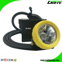 High Low Beam Mining Head Lamp Waterproof LED Miner Headlight with USB Charging