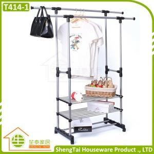 China New Design Portable Stainless Steel Clothes Three Tier Dryer Rack on sale