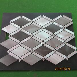 China aluminium profile mosaic tiles on sale