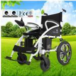 Steel Small Motorized Wheelchair , Lightweight Transport Wheelchair