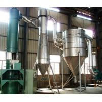 Carbon White Fast Rotary Industrial Flash Dryer , Chemical Continuous Drying Equipment