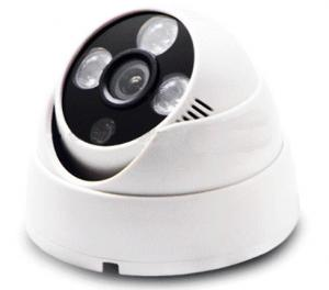 China High Definition Dome Infrared Security Cameras With Optional Lens on sale