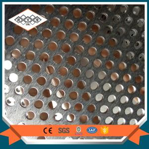 China SS 304 perforated filter mesh  / decorative perforated metal mesh on sale