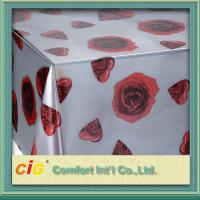 Wholesale Disposable PVC Table Cloths / PP Non-woven Tablecloth for Wedding / Hotel