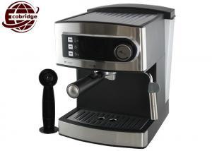 China 12 Cups 1600ml 15 Bar Steam Coffee Maker Espresso Machine GS/CE/EMC/RoHS Approval on sale