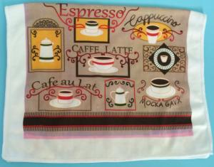 China microfiber tea towel coffee towel on sale