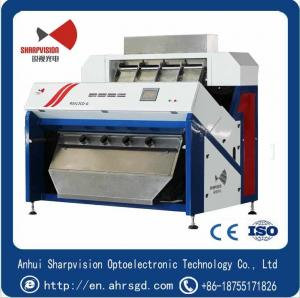 China Belt-type Optical RGB Ore Stone Color Sorter RS512 with 5000+ Pixel CCD camera and Sensitive Touchable LCD Screen on sale