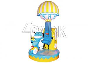 China Merry Go & Down happy sports real bicycle EPARK rotation carousel platform kids racing video game machine on sale