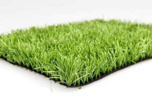 China Dark Green Outdoor Artificial Grass , Environmental Synthetic Grass For Cricket / Hockey on sale