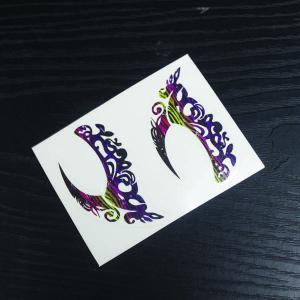 China Nonmetallic Eye Shadow Temporary Tattoo Sticker Eye Tattoo Sticker on sale