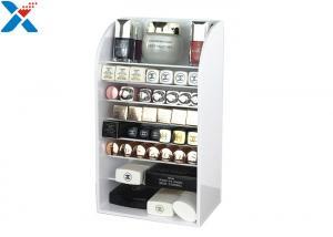 China Large Acrylic Cosmetic Display Stand , 6 Layer Acrylic Makeup Display Stand on sale