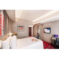 China Budget hotel rooms interior design of furniture made by Laminate board in Wardrobe and Cupboard cabinets on sale
