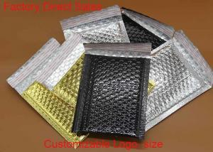 China Customized Recyclable Bubble Packaging Shipping Bag brown Metallic Bubble Mailers on sale