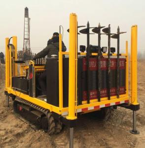 China Wheel type CPT machine cone penetration test truck for soil on site testing on sale