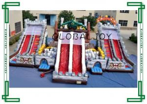 China Outdoor Giant Inflatable Fun Land , Funny Inflatable Amusement Park on sale