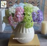 China UVG FHY63 making hydrangea flowers artificial for wedding decorating and partying wholesale