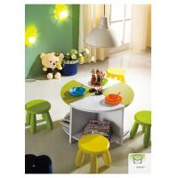 China Toddler / Childrens Bedroom Furniture Sets , Melamine or Matt Painting Round Table on sale