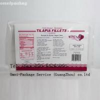 China Eco-friendly Laminated Frozen Food Bags Food Grade Heat Sealed For Fish / Seafood on sale