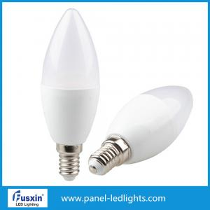 China 480LM High CRI E27 E14 LED Bulb Light 6W Led Candle Lamp High Efficiency on sale