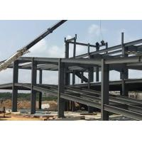 Recyclable Low Carbon Steel Prefabricated Steel Structure Building Customized Design