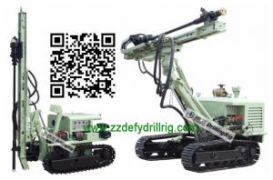 China 30M Rock Blasting Drilling Rig, DFD-120Z DTH Drilling Machine for Sale on sale