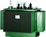 S11 Type 10 KV Oil Immersed Power Transformer High Mechanical Strength Low Noise