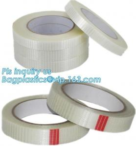 China Filament / Fiberglass Tape Mono Line Filament Tape Promotional Filament Self-Adhesive on sale
