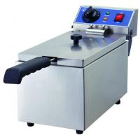 China Glead Kitchen Cooking Equipment Electric Stainless Steel Deep Fryer 6L 8L on sale