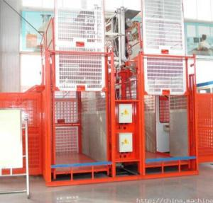 China DONGDE Building construction hoist / construction elevator / Material Hoist on sale