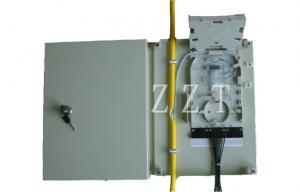 China Wall Mounted Single Fiber Optic Termination Box Drop Cable For Mechanical Splice on sale